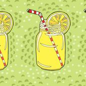 Hot summer day lemonade