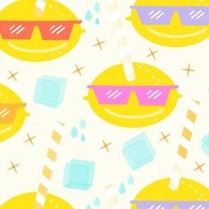 Lemon Glasses Refreshments