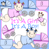 Baby Boys and Girls Fabric #3