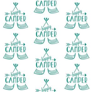 Happy Camper - Green