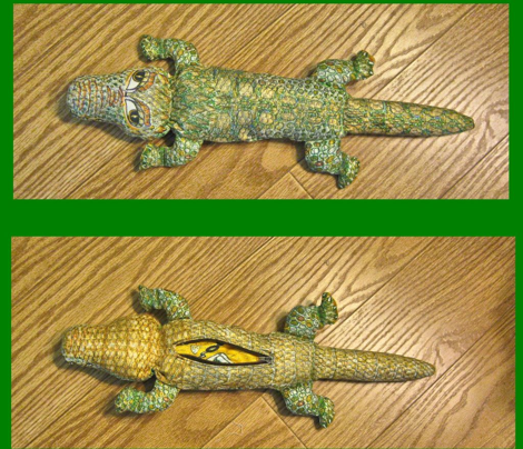 Ali Gator Plushie/Pencil Case