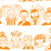 Supporters (orange)