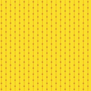 stripes with dots yellow-orange
