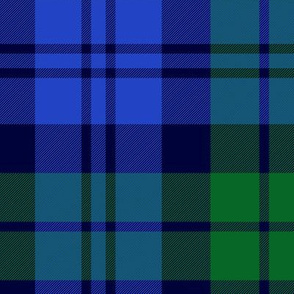 Campbell 42nd regimental tartan