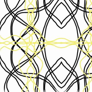 black yellow scandinavian retro-ch