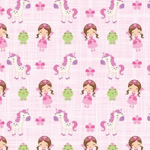 Princess_Unicorn_Frog_Fabric
