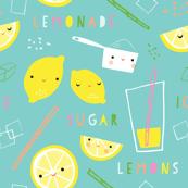 lemonade time aqua