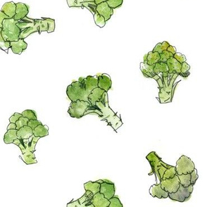 Broccoli - open