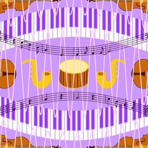 music in a purple haze
