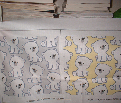 Cute Cartoon Baby Polar Bears Grey by Cheerful Madness!!