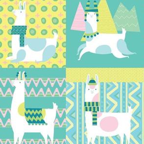 Llamas Dance in Peu
