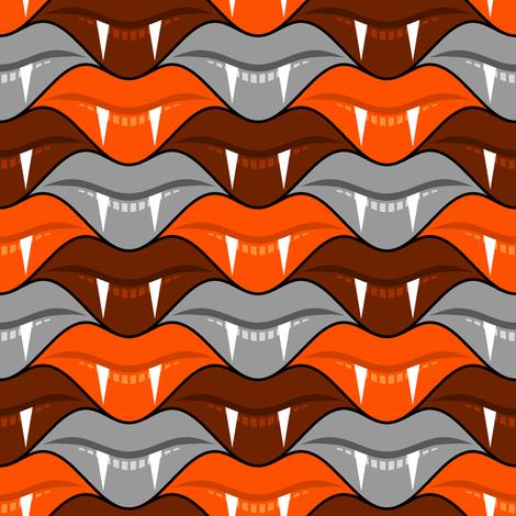 fanged lips 3 - monster