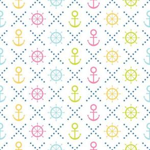 Navy seamless patterns