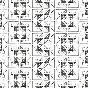 Color-Me Aztec Block