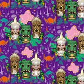 Monster Tiki Trek - Purple