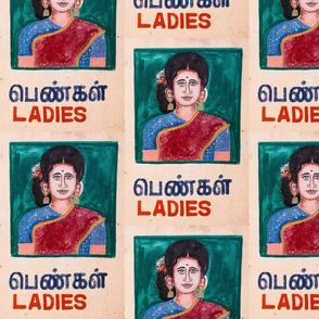 Ladies Room Tamil Style