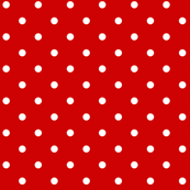 CHERRY RED DOTS LARGE