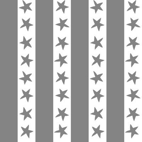 Stars and Stripes - Grey by Andrea Lauren