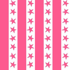 Stars and Stripes - Pink by Andrea Lauren