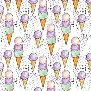 Purple Ice Cream SMALL