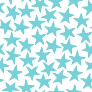Stars - Aqua by Andrea Lauren
