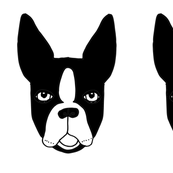 Cut and Sew Boston Terrier Plushie by Andrea Lauren