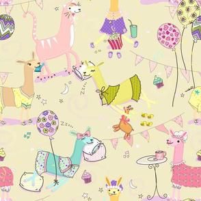 Llama Pajama Party