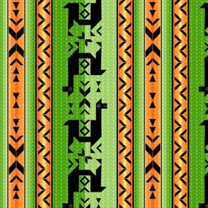Llamas_Green and Orange
