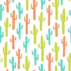 cactus // southwest kids bright summer tropical baby nursery