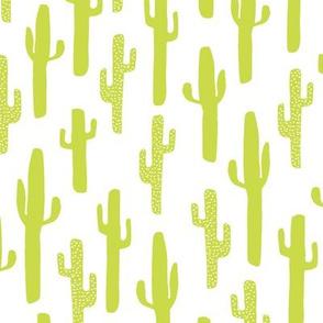 Cactus - Chartreuse by Andrea Lauren