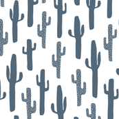 Cactus - Payne's Grey by Andrea Lauren