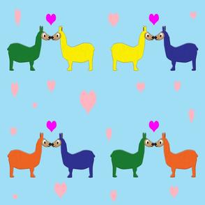 llama_kiss