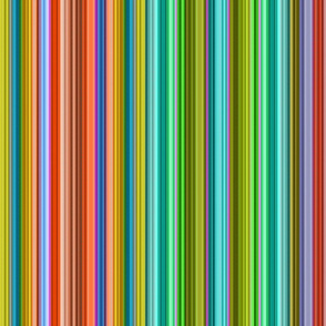 stitched stripes rainbow
