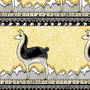 llama llama dot dot in gold