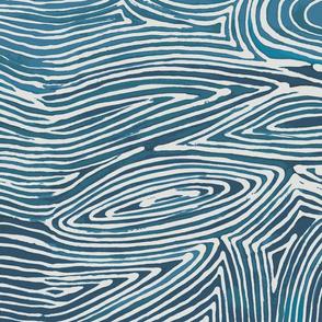 Ocean Batik Wallpaper
