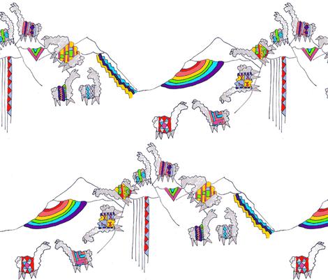 Llama Zigzag