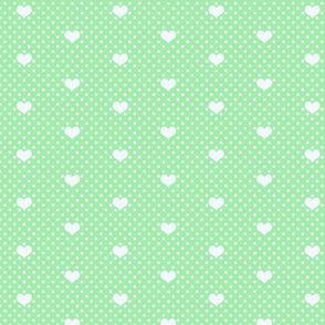 PolkaDot_and_Heart_SpringGreen