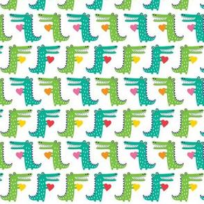 heartfelt alligators small