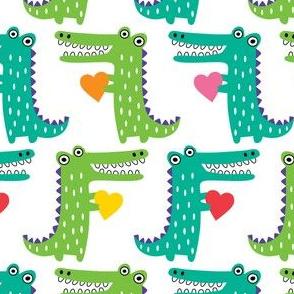 Heartfelt Alligators large