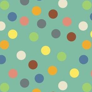 Hippy polka dots