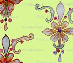 Hellenic Flower Pattern