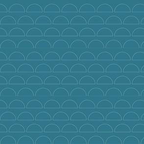 Loch Blue Mod Semi Circles