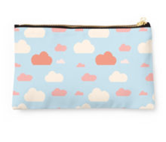 Cloud blue and pink