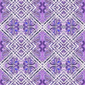 In an Interwoven Purple Lattice Way