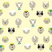 Animal Faces Vanilla