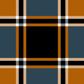 Bonfire Nights Tartan ~ Faux Flannel
