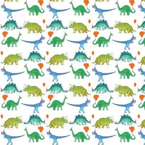 dinosaur party!