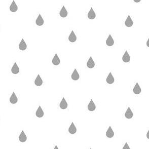 Drops - dark grey