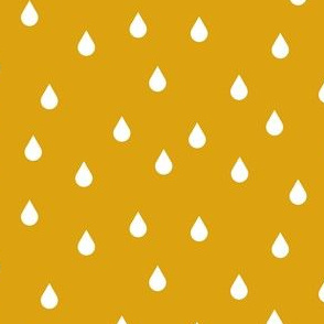 Drops - dark yellow inverse
