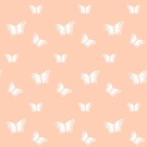 Butterflies_on Peach
